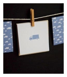 Itty Bitty Truck Cards